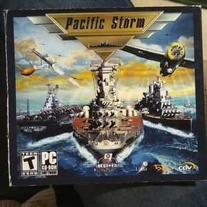 Pacific Storm Teen Game PC CD-ROM Software✈️✈️✈️
